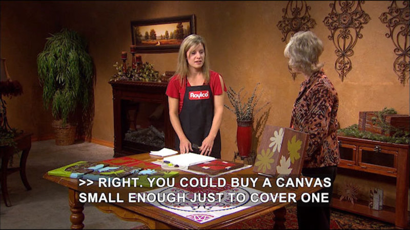 Still image from: Creative Living With Sheryl Borden #6610