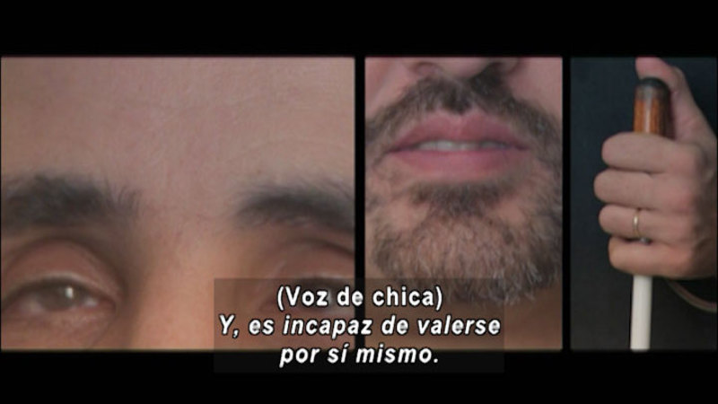 Still image from: Don't Let Prejudices Talk For You: Disability (Spanish)