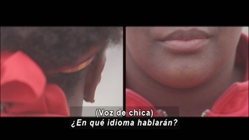 Still image from Don't Let Prejudices Talk For You: Of African Descent (Spanish)