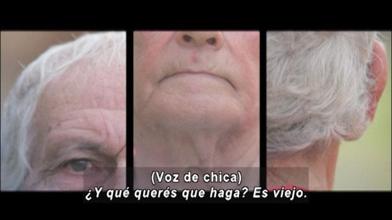 Still image from Don't Let Prejudices Talk For You: Senior Citizens (Spanish)