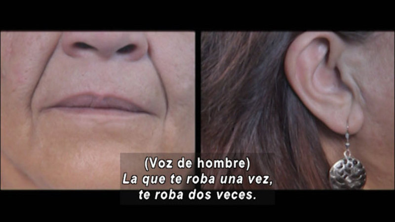 Still image from: Don't Let Prejudices Talk For You: Released (Spanish)
