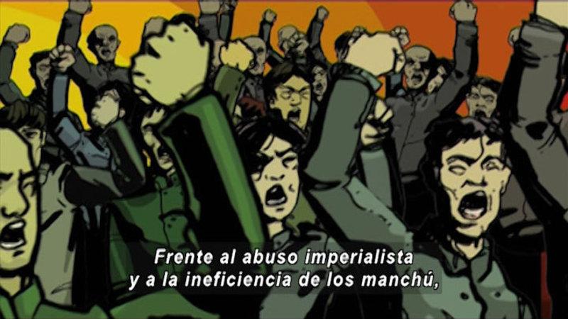Still image from: Revolutions: Chinese Revolution (Spanish)