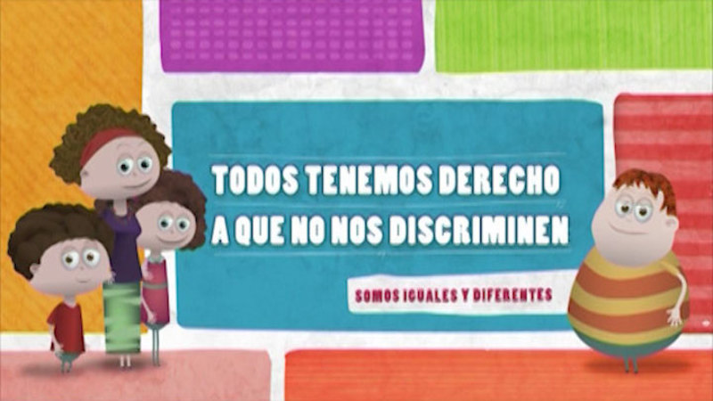 Still image from Similar And Different: Discrimination (Spanish)