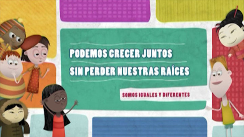 Still image from: Similar And Different: Migrants (Spanish)