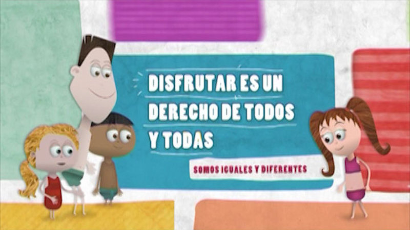 Still image from: Similar And Different: Equality (Spanish)