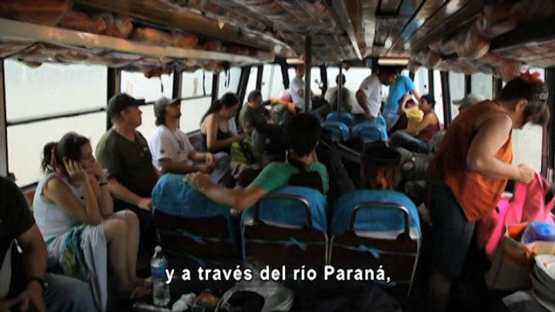Still image from The Tri-Border: The Beginning (Spanish)