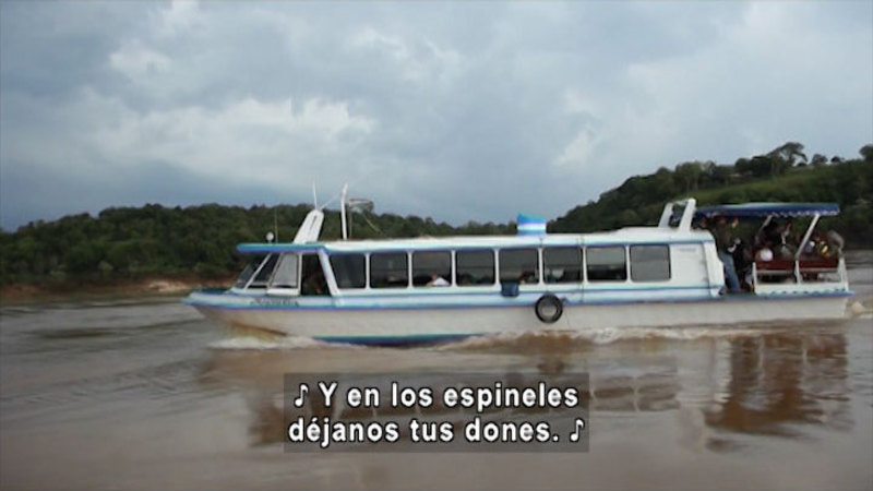 Still image from Yacyretá-Apipé: A Man And The River (Spanish)
