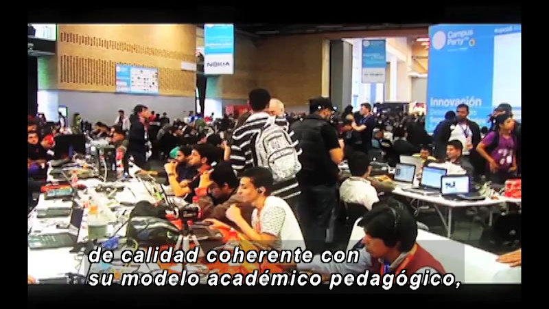 Still image from Science And Technology – Virtual Education Part 3 (Spanish)