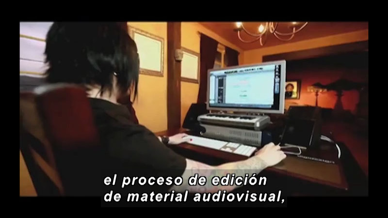 Still image from Science And Technology – Technology For TV Part 2 (Spanish)