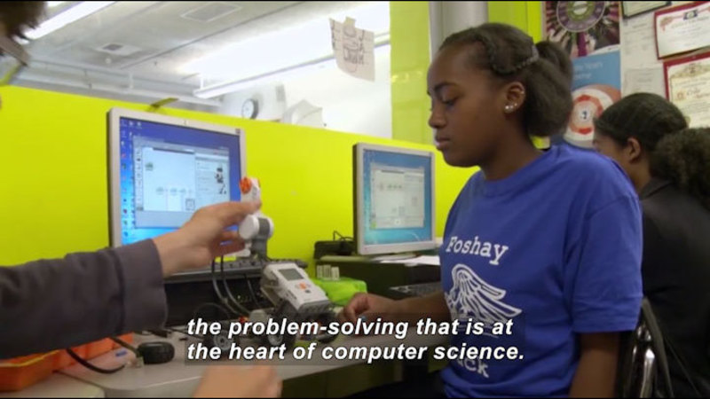 Still image from: Science Nation: Education Research Team Successfully Launches Innovative Computer Science Curriculum