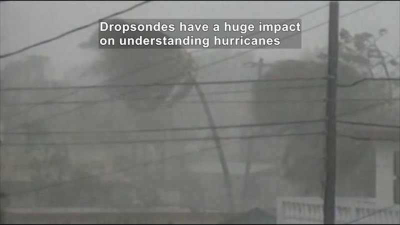 Still image from Science Nation: Dropsondes--Work Horses in Hurricane Forecasting