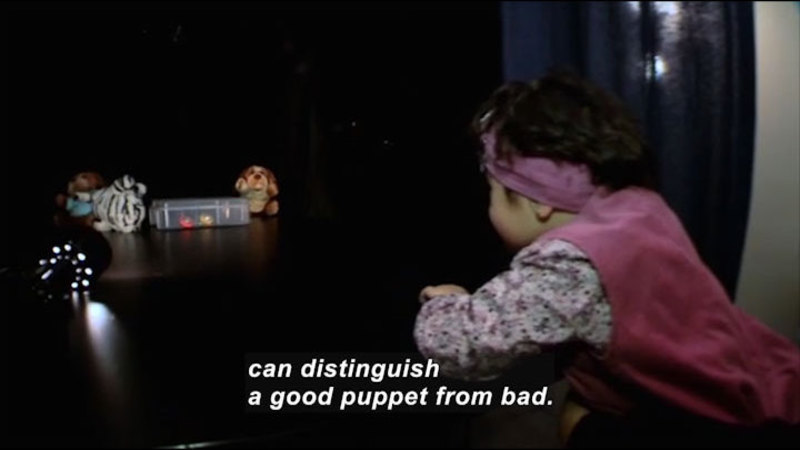 Still image from: Science Nation: Babies and Learning