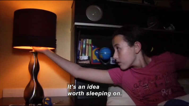 Still image from: Science Nation: Sleep Deprived Kids