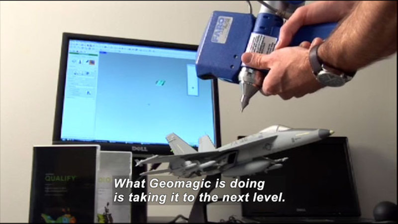 Still image from: Science Nation: Geomagic