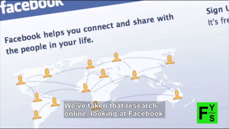 Still image from Science Nation: How Social Networks Influence Behavior