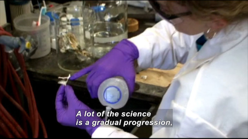 Still image from Profiles Of Scientists And Engineers: Chemist