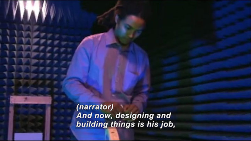 Still image from Profiles Of Scientists And Engineers: Electrical Engineer