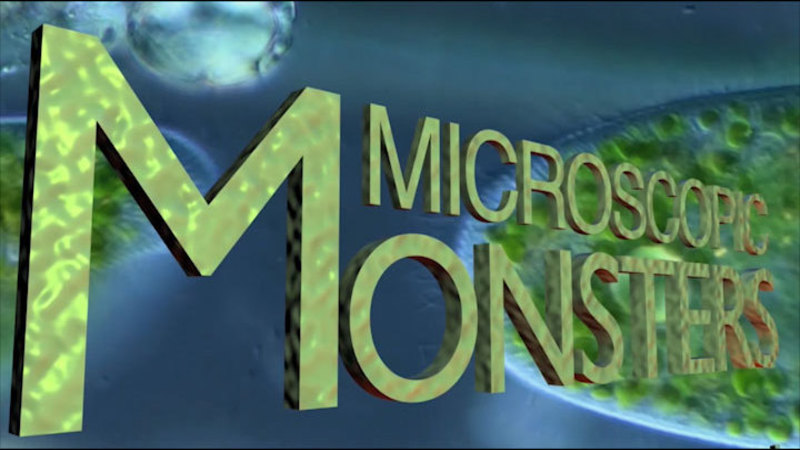 Still image from: Microscopic Monsters