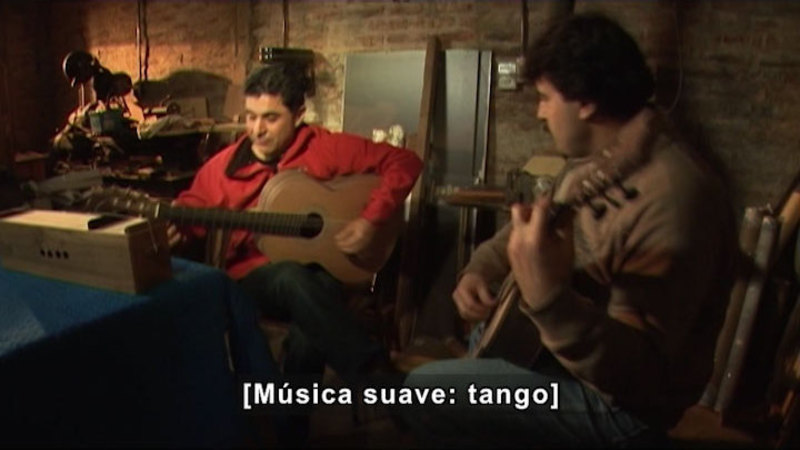 Still image from Artists Of Science: Music (Spanish)