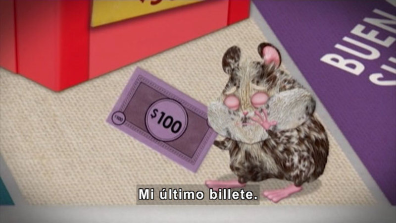Still image from: Through More Adventures: Lucky for Me (Spanish)