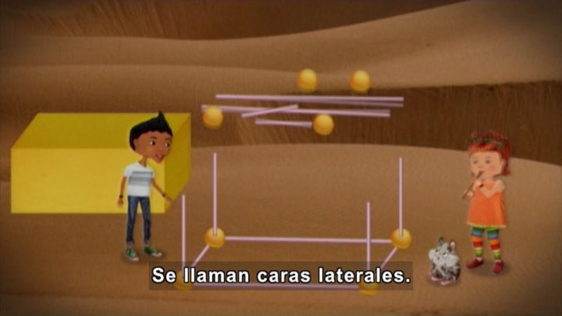 Still image from: Through More Adventures: The Geometry Project (Spanish)