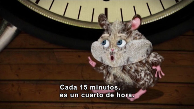 Still image from Through More Adventures: At The Exact Time (Spanish)