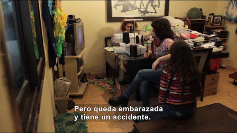 Still image from: My Life With Myself: Living With Epilepsy (Spanish)