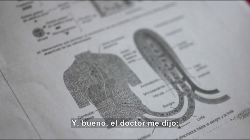 Still image from My Life With Myself: Living With Obesity (Spanish)
