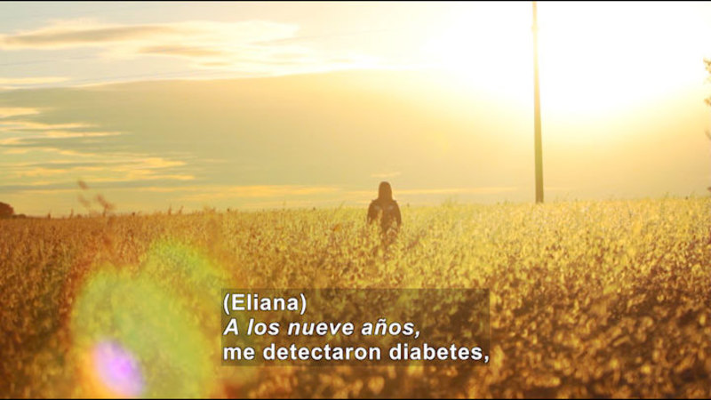 Still image from My Life With Myself: Living With Diabetes (Spanish)