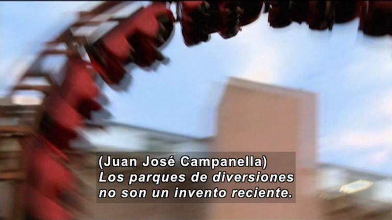 Still image from Invisible Science And Technology Surrounding: Amusement Park (Spanish)