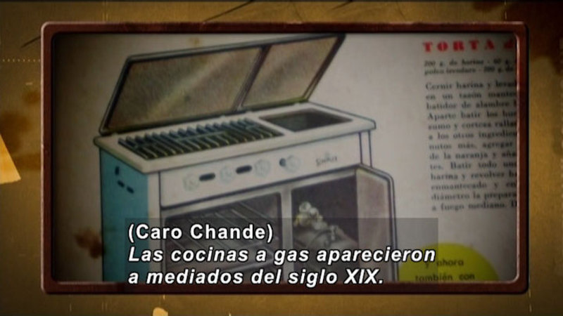 Still image from Invisible Science And Technology Surrounding: Kitchen (Spanish)