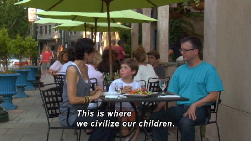 Still image from: Michael Pollan: Eating Together