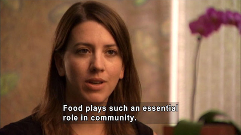 Still image from Food + Community