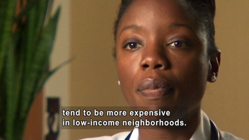 Still image from Nadine Burke, M.D.: Food Access