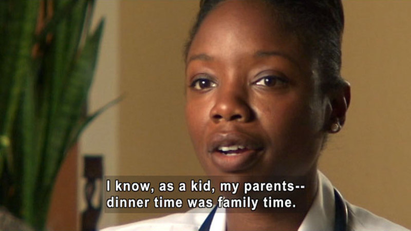 Still image from: Nadine Burke, M.D.: Food And Family