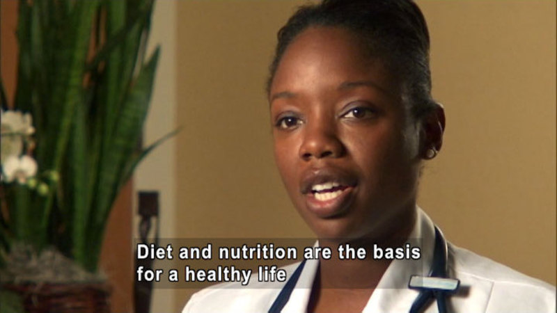 Still image from: Nadine Burke, M.D.: Food Is Health