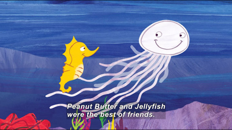 Still image from: Peanut Butter And Jellyfish