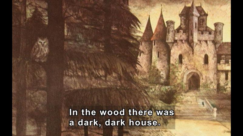 Still image from: A Dark, Dark Tale