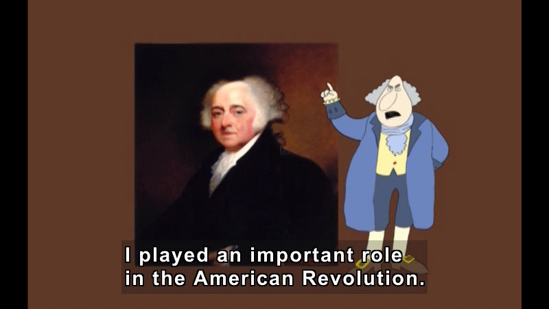 Still image from Getting To Know The U.S. Presidents: John Adams