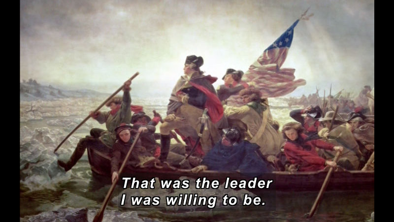 Still image from: Getting to Know the U.S. Presidents: George Washington