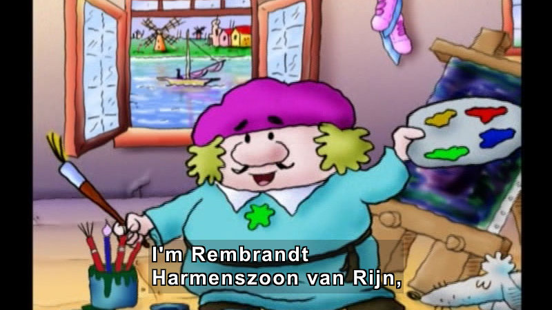 Still image from Getting To Know Rembrandt