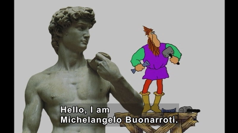 Still image from Getting To Know Michelangelo