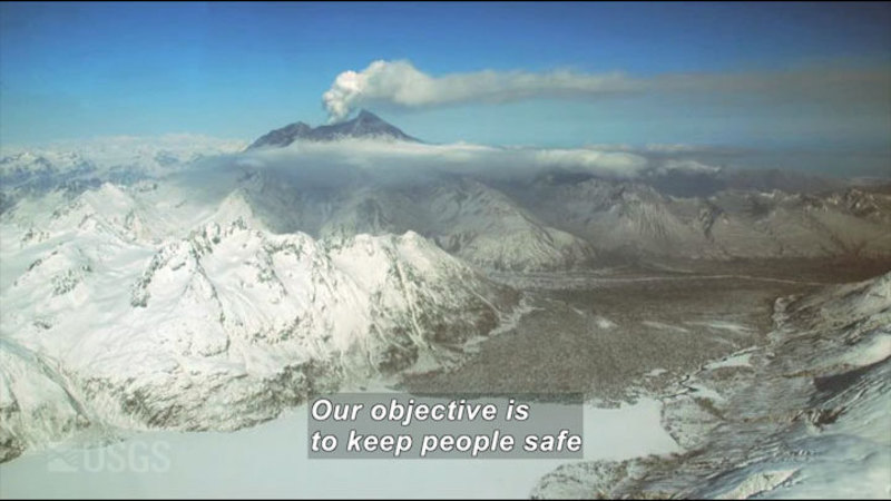 Still image from Volcano Web Shorts 5: Volcanic Ash Impacts