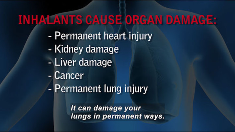 Still image from: Inhalant Abuse: One Huff Can Kill