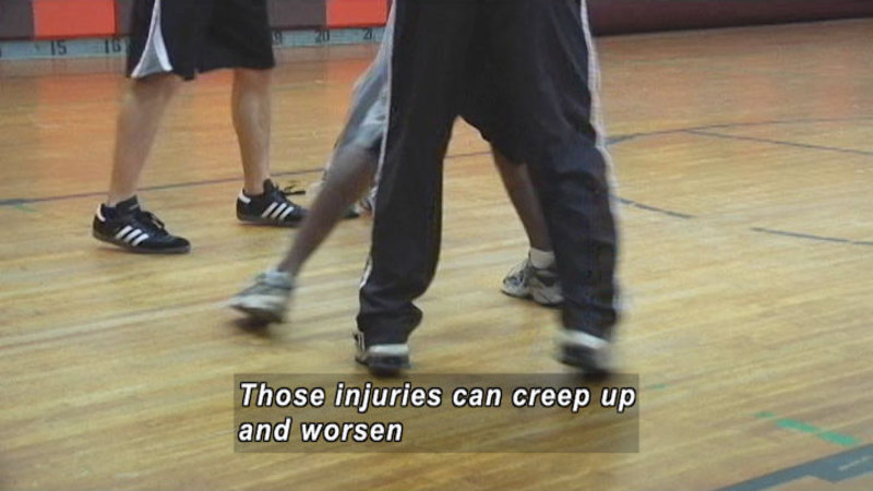 Still image from: Preventing Athletic Injuries