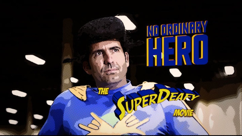 Still image from: No Ordinary Hero: The SuperDeafy Movie