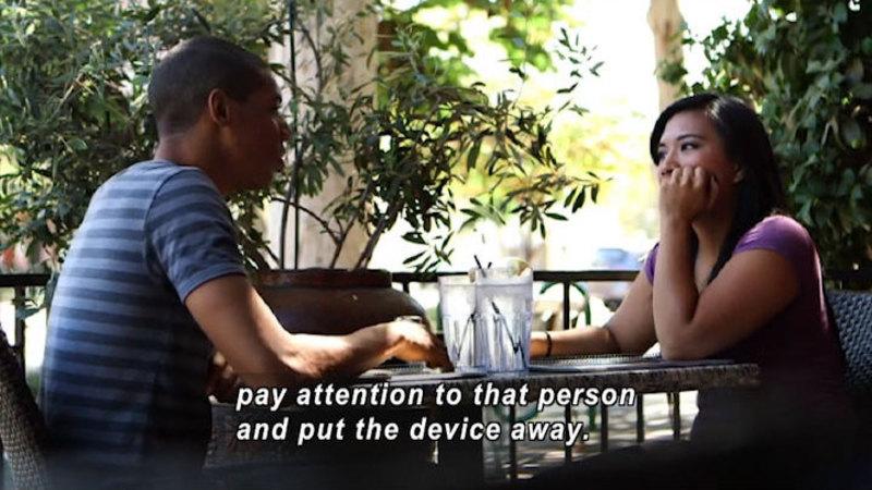 Still image from: Social Media Manners: Polite Behavior In The Social Media World