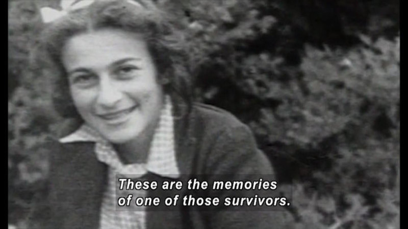Still image from: One Survivor Remembers