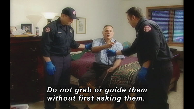 Still image from ALIVE: Training Video For First Responders