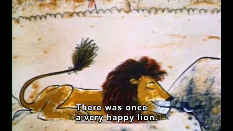 Still image from: The Happy Lion